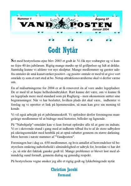 Vandposten 2004 nr. 1