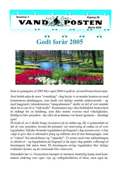 Vandposten 2005 nr. 1