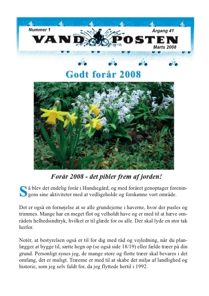 Vandposten 2008 nr. 1