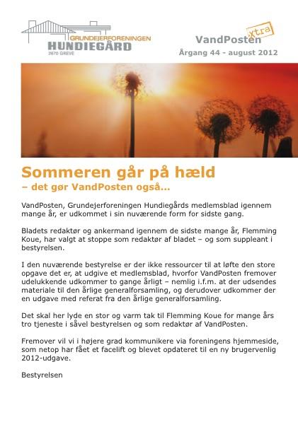 Vandposten 2012 nr. 2